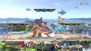 MasonEliwood (Incineroar) vs. Bowser in Public Battle Arenas Online #4