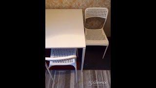 видео Обеденные столы и стулья для кухни из магазина ИКЕА