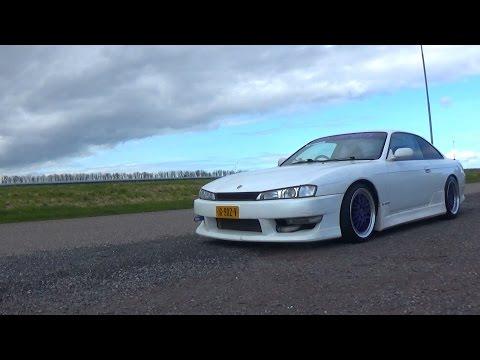Elisa's Nissan Silvia S14 Drifting!