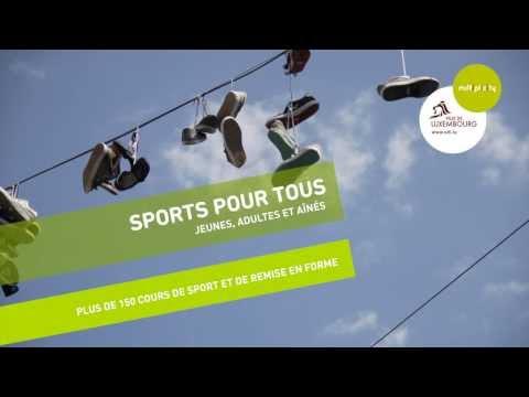 Sports pour tous I Ville de Luxembourg