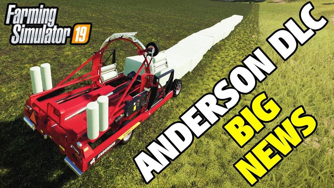 FS19 ANDERSON DLC | Trailer, Dev Blog and Machine Specs