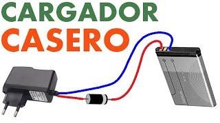 Como hacer Cargador Universal para Baterías de celular | Invento Casero #5