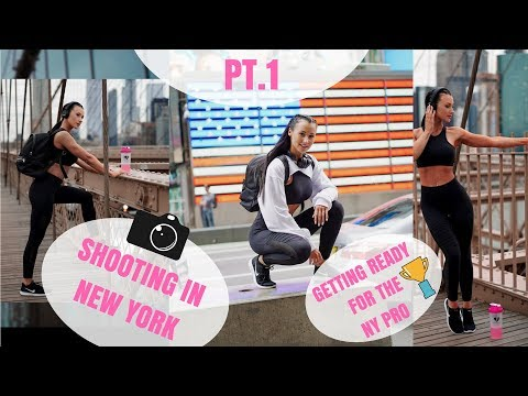 HOTEL GLUTES & HAMSTRING WORKOUT | THE BEST PHOTOSHOOT LOCATIONS IN NEW YORK thumbnail
