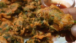 एक बार बनायेगे बार बार खायेगे l Pakora l Chaulai aur pyaaz ki pakodi