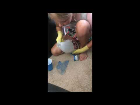 how to clean slime from carpet
