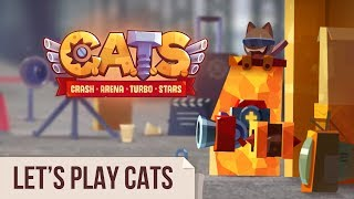 Let's Play C.A.T.S: Crash Arena Turbo Stars (Live Stream #55)
