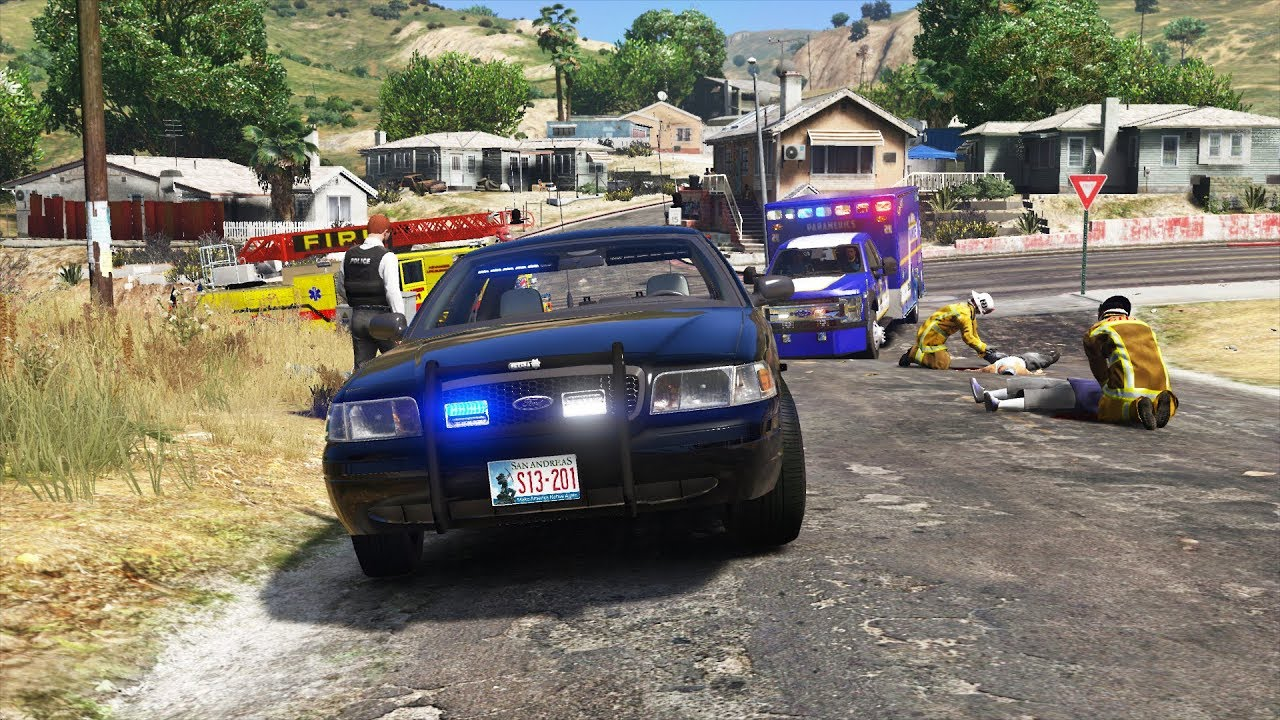 LSPDFR - Day 867 - Serving Warrants in Gang Territory