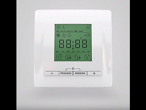 Настройка терморегулятора ТP 520