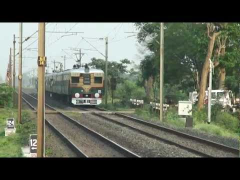 INDIAN RAILWAYS- UP BWN Local(Suburban Train) from HWH