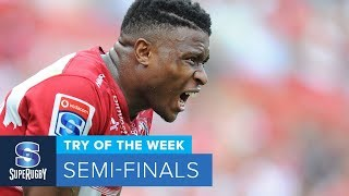 TRY OF THE WEEK: 2018 Super Rugby Semi-Finals