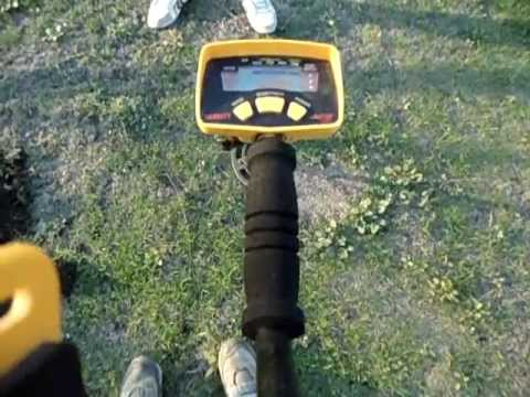 "Como usar el detector de metal How to use metal detector   ""pin point"""