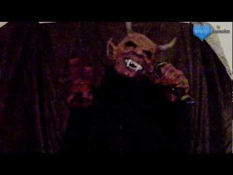 """Me singing """"Thriller"""" on Enjoy! Karaoke"""
