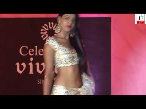 Nia Sharma Hot Cleavage Show On Ramp thumbnail