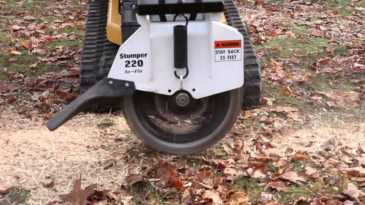 Vermeer S800tx Mini Skid Steer With Stumper 220 Tree Stump