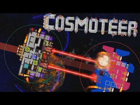 Cosmoteer - RULING THE UNIVERSE - Ship Building & Space Piracy Perfection! - Cosmoteer Gameplay