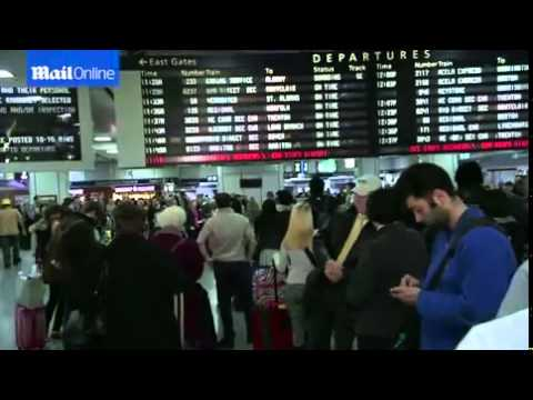 Travelers from New York head home for...