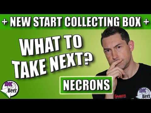 Start Collecting Necrons - How to Expand the New Necron Start Collecting Box