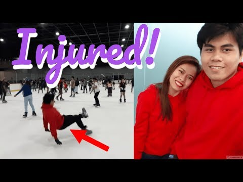 Ice Skating Accident in Mall Of Asia (Injured!)