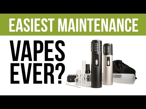 The Arizer Air Vaporizer: Easiest Maintenance