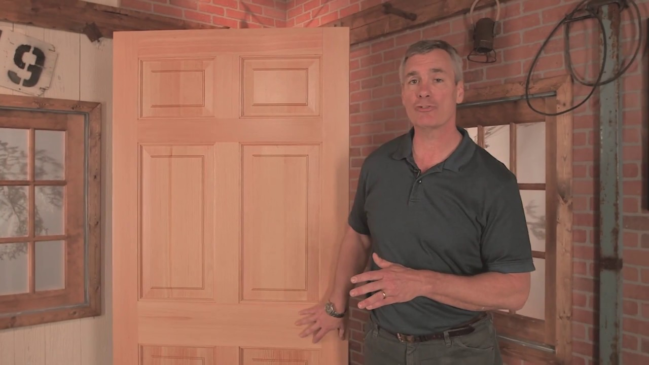 Wood vs fiberglass vs steel exterior doors reeb youtube for Reeb fiberglass exterior doors
