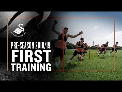 PRE-SEASON 18/19: FIRST TRAINING