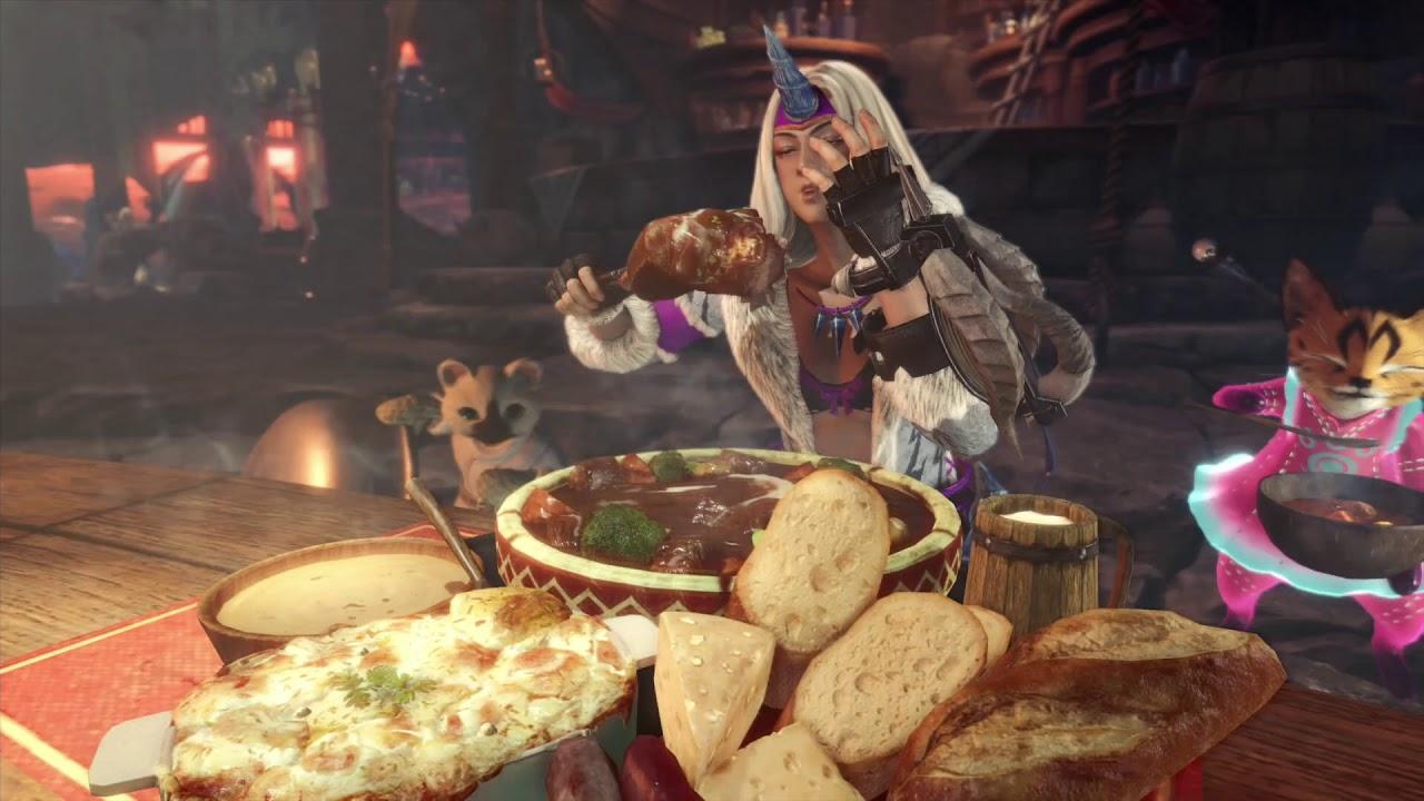 PS4 Monster Hunter Gameplay 11 Mar
