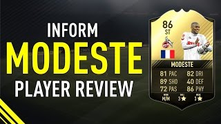FIFA 17 SIF MODESTE (86) PLAYER REVIEW