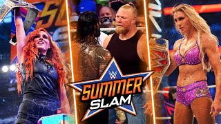 What Happened At WWE SummerSlam 2021