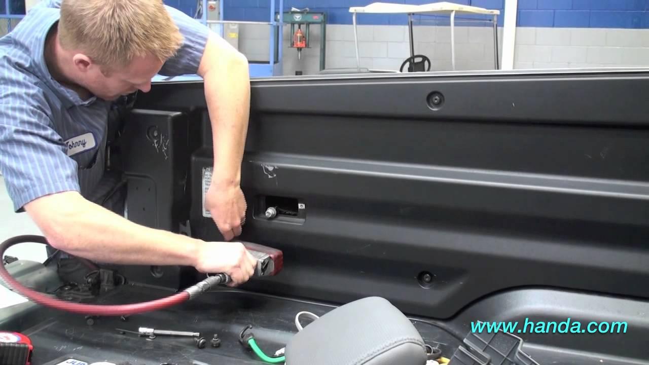 Ridgeline BackUp Camera Installation (Honda Answers #72