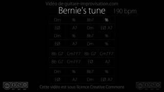Download Bernie's Tune : Backing Track MP3 song and Music Video