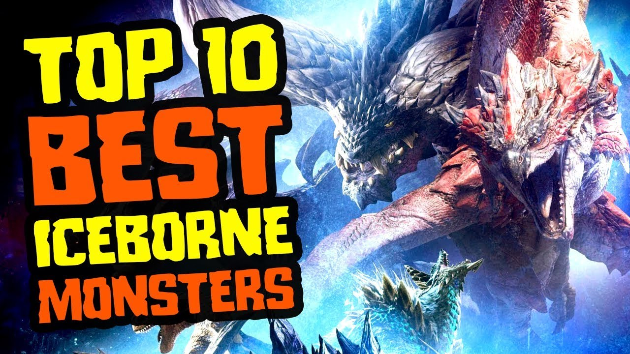 Top 10 Best Monsters in Monster Hunter World Iceborne (My Favorites) thumbnail