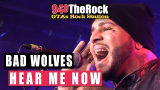 bad wolves hear me now acoustic