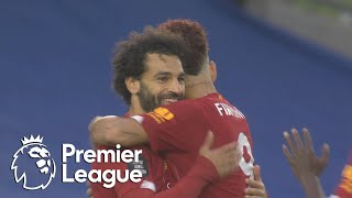 Mohamed Salah gives Liverpool quick lead at Brighton | Premier League | NBC Sports