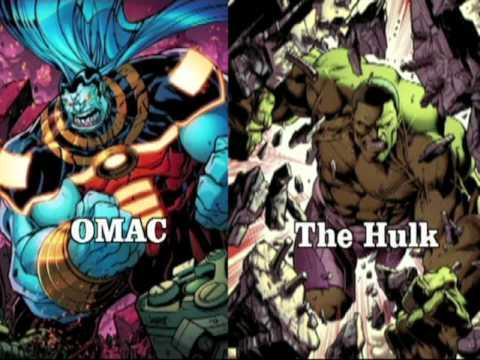 DC vs Marvel - Heroes