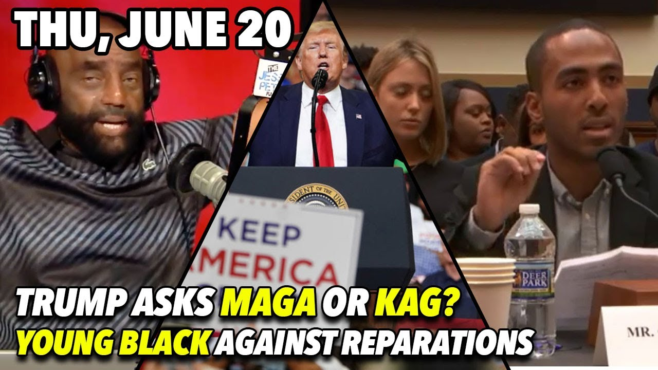 Jesse Lee Peterson Thu, June 20: You're Not Supposed to Go Through Hard Times (Part 2)