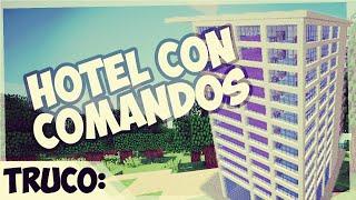 Comando - Crear un Hotel 100%  Automatico - 1.8 Minecraft