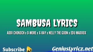 BOONDOCKS GANG FT OCHUNGULO FAMILY (SAMBUSA LYRICS VIDEO )