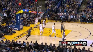 2nd Quarter, One Box Video: Golden State Warriors vs. Los Angeles Clippers