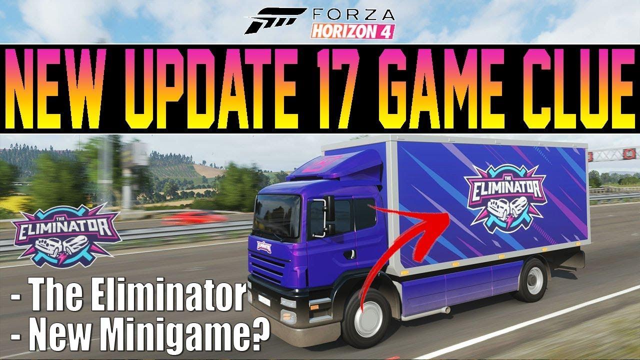 Forza Horizon 4 - NEW Update 17 Feature CLUE? -