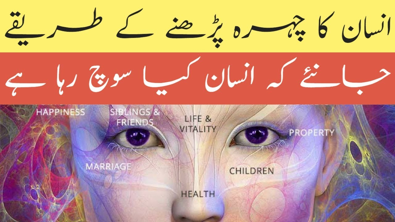 Face Reading Techniques In Urdu Hindi 2018 How To Read Face