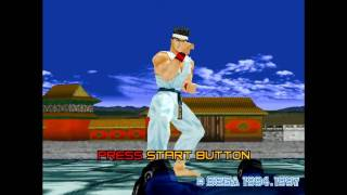 Virtua Fighter 2 intro PC