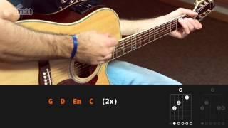 Choram As Rosas - Bruno e Marrone (aula de violão simplificada)