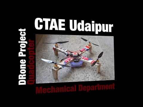 Wooden Solar Quadcopter | Drone Project | By CTAE Udaipur Students