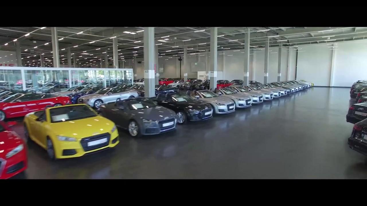 Audi Gebrauchtwagen :plus Zentrum München - YouTube