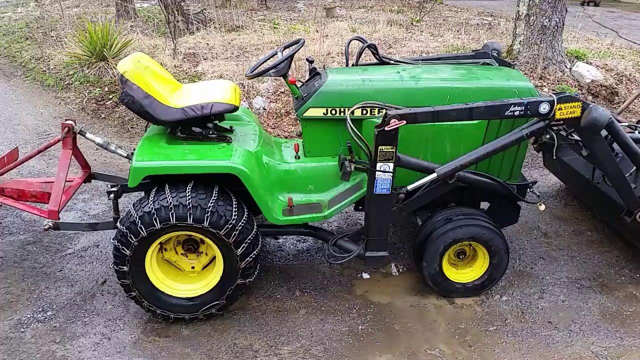 My John Deere 430 Diesel Tractor Youtube