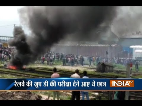 Students appearing for WB govt exam vandalised a train at New Jalpaiguri demanding special train