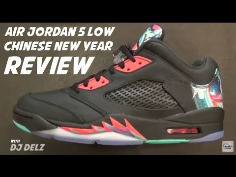 dd48d885102 Air Jordan 5 Low Chinese New Year CNY Sneaker Review - YouTube