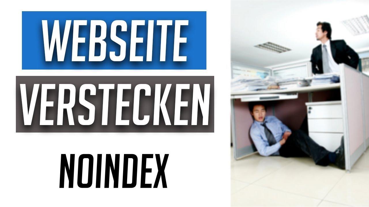 WordPress Seite (z.B. Impressum) vor Google verstecken in ...