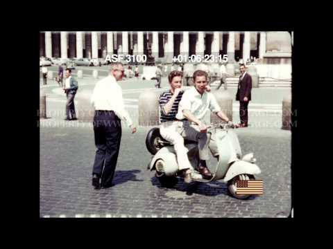 HD STOCK FOOTAGE - Strolling around St. Peters, Rome, Italy