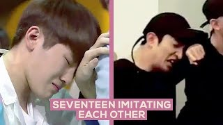 Seventeen Imitating Each Other